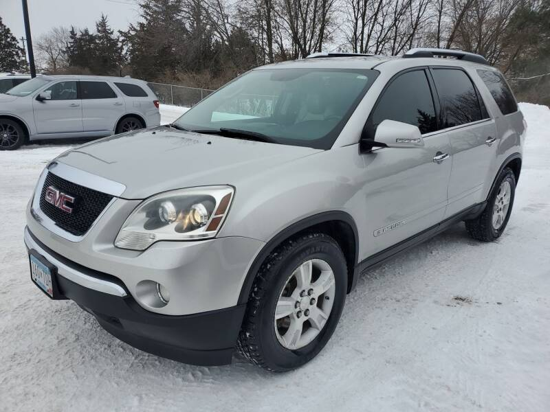 2008 GMC Acadia for sale at Ace Auto in Jordan MN