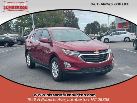 2020 Chevrolet Equinox for sale at Nissan of Lumberton in Lumberton NC