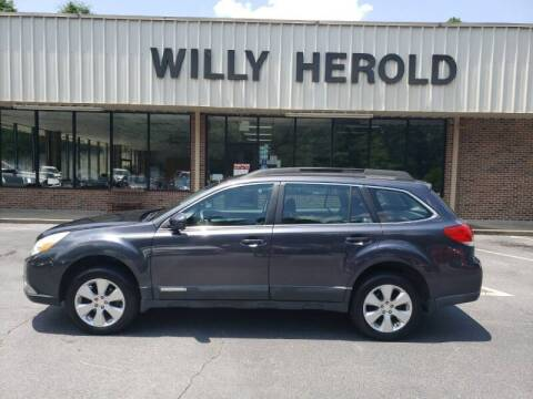 2012 Subaru Outback for sale at Willy Herold Automotive in Columbus GA