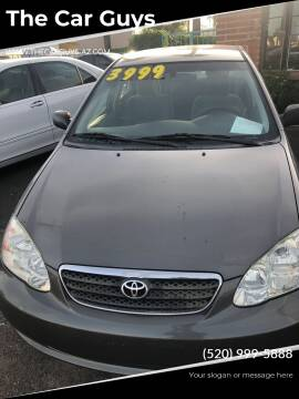 2006 Toyota Corolla for sale at The Car Guys in Tucson AZ