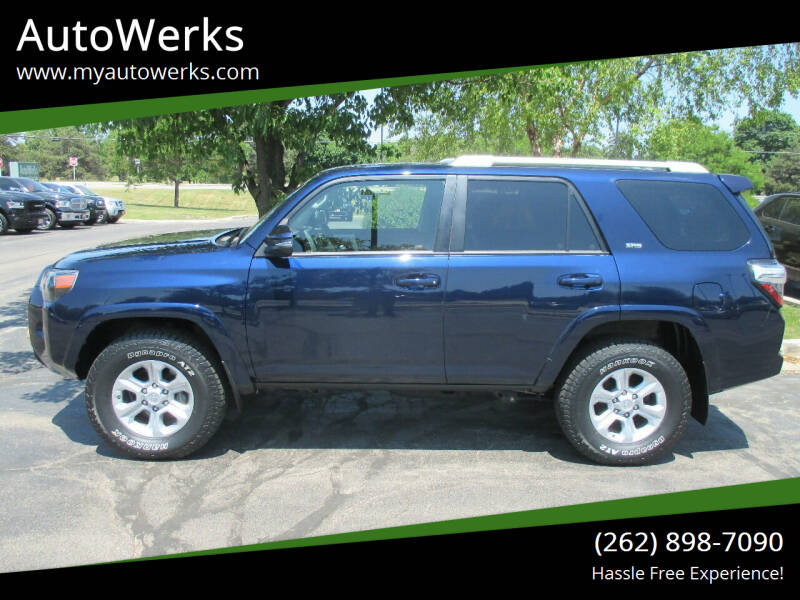 2018 Toyota 4Runner for sale at AutoWerks in Sturtevant WI