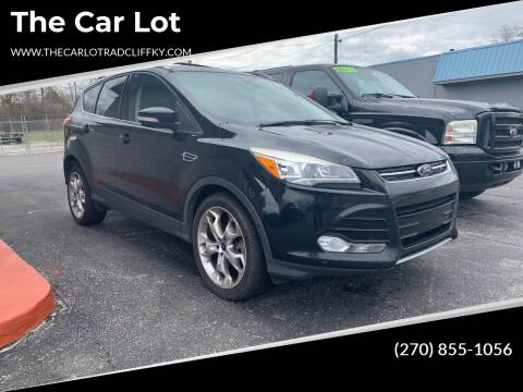 2013 Ford Escape for sale at The Car Lot in Radcliff KY