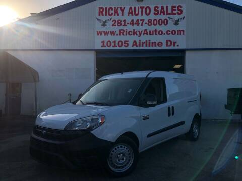 2016 RAM ProMaster City Cargo for sale at Ricky Auto Sales in Houston TX