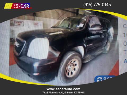 2007 GMC Yukon for sale at Escar Auto in El Paso TX