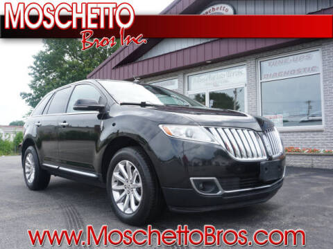 2014 Lincoln MKX for sale at Moschetto Bros. Inc in Methuen MA