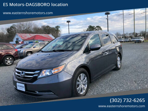 2014 Honda Odyssey for sale at ES Motors-DAGSBORO location in Dagsboro DE