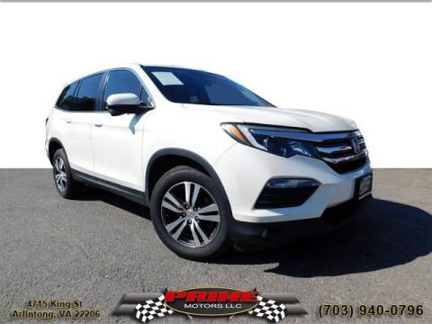2016 Honda Pilot for sale at PRIME MOTORS LLC in Arlington VA