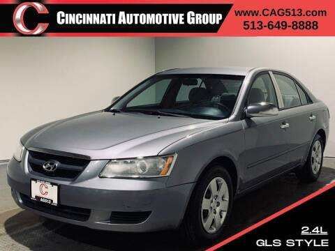 2008 Hyundai Sonata for sale at Cincinnati Automotive Group in Lebanon OH