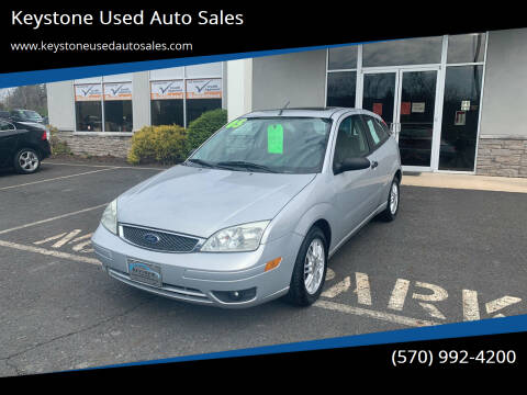 2005 Ford Focus for sale at Keystone Used Auto Sales in Brodheadsville PA