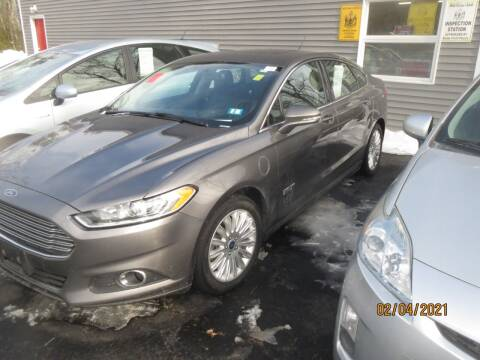 2013 Ford Fusion Energi for sale at D & F Classics in Eliot ME
