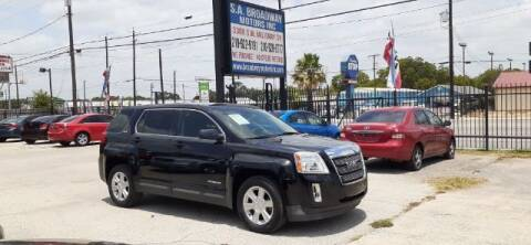 2011 GMC Terrain for sale at S.A. BROADWAY MOTORS INC in San Antonio TX