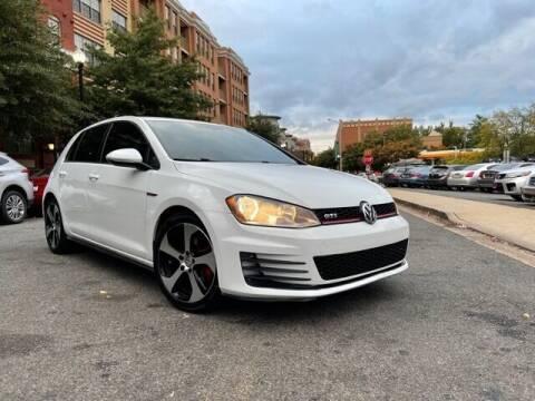 2015 Volkswagen Golf GTI for sale at H & R Auto in Arlington VA