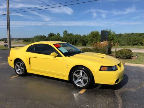 2003 Ford Mustang SVT Cobra for sale at Fox Valley Motorworks in Lake In The Hills IL