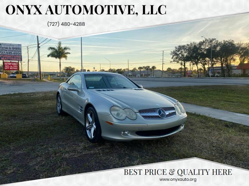 2003 Mercedes-Benz SL-Class for sale at ONYX AUTOMOTIVE, LLC in Largo FL