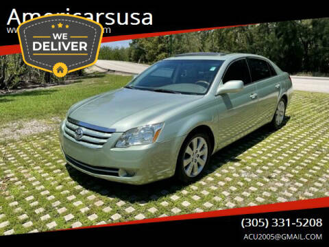 2005 Toyota Avalon for sale at Americarsusa in Hollywood FL