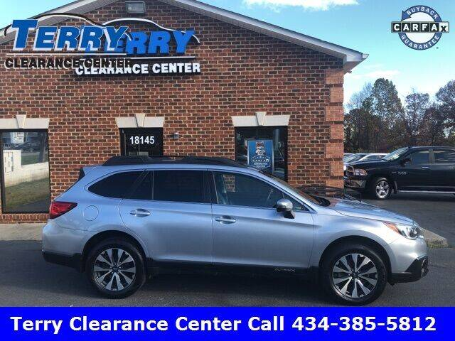 2015 Subaru Outback for sale at Terry Clearance Center in Lynchburg VA