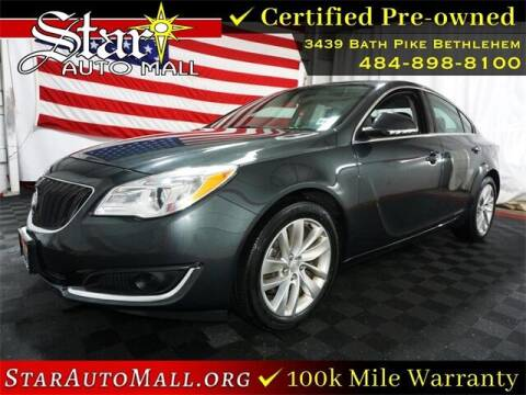 2017 Buick Regal for sale at STAR AUTO MALL 512 in Bethlehem PA