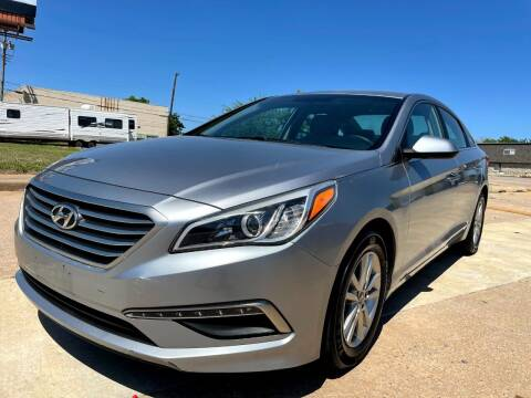 2015 Hyundai Sonata for sale at Automay Car Sales in Oklahoma City OK