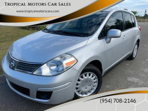 2009 Nissan Versa for sale at Tropical Motors Car Sales in Deerfield Beach FL
