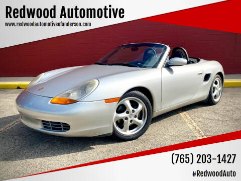1999 Porsche Boxster for sale at Redwood Automotive in Anderson IN