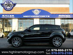 2013 Land Rover Range Rover Evoque for sale at Highline Group Motorsports in Lowell MA