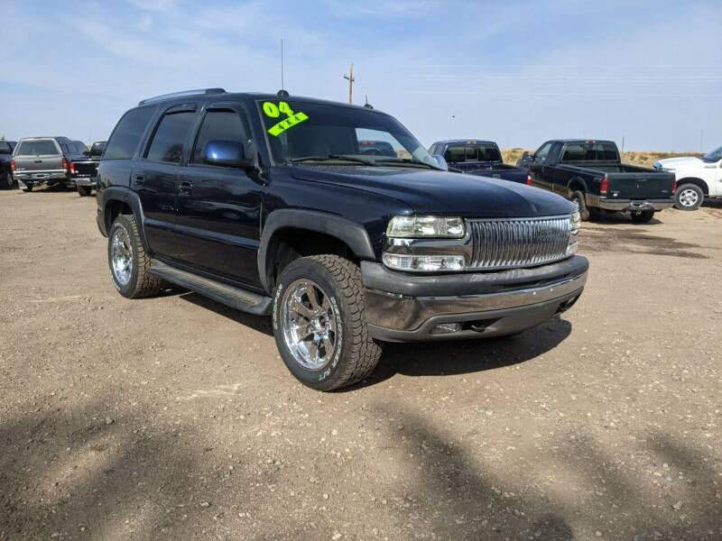 2004 Chevrolet Tahoe for sale at HORSEPOWER AUTO BROKERS in Fort Collins CO