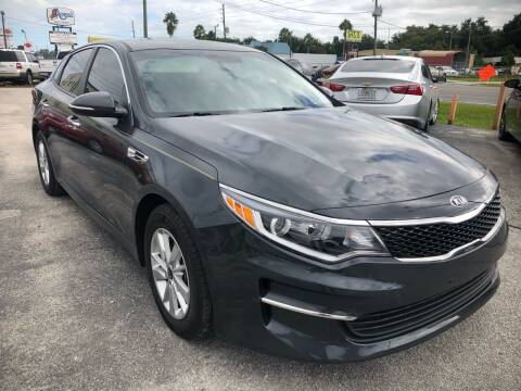 2016 Kia Optima for sale at Marvin Motors in Kissimmee FL