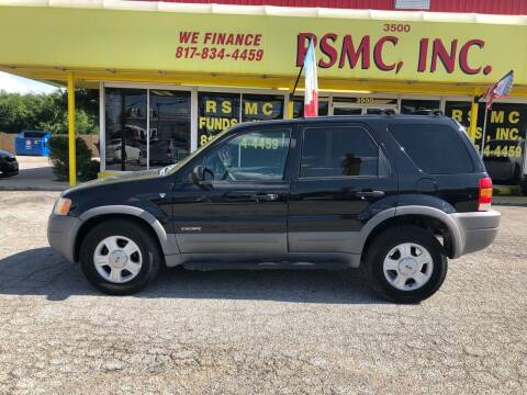 2002 Ford Escape for sale at Ron Self Motor Company in Fort Worth TX