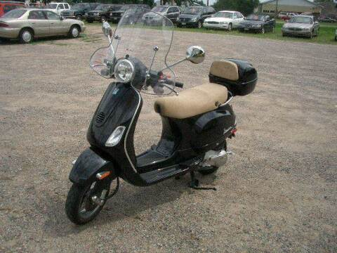 2006 Vespa 150 cc for sale at D & T AUTO INC in Columbus MN