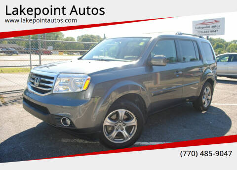 2013 Honda Pilot for sale at Lakepoint Autos in Cartersville GA