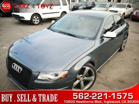 2010 Audi S4 for sale at Carz 4 Toyz in Inglewood CA