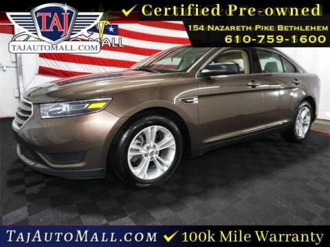 2016 Ford Taurus for sale at Taj Auto Mall in Bethlehem PA
