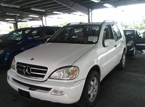 2003 Mercedes-Benz M-Class for sale at Goval Auto Sales in Pompano Beach FL