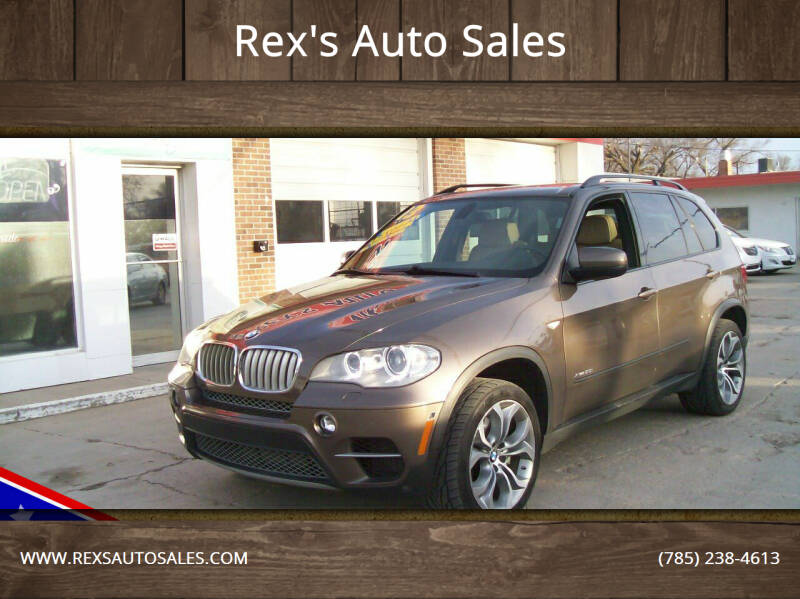 2013 BMW X5 for sale at Rex's Auto Sales in Junction City KS