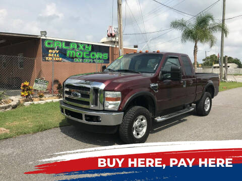 2010 Ford F-250 Super Duty for sale at Galaxy Motors Inc in Melbourne FL