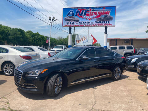 2015 Hyundai Genesis for sale at ANF AUTO FINANCE in Houston TX