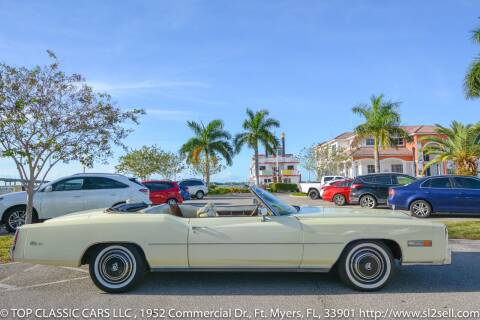 1976 Cadillac Eldorado for sale at Top Classic Cars LLC in Fort Myers FL