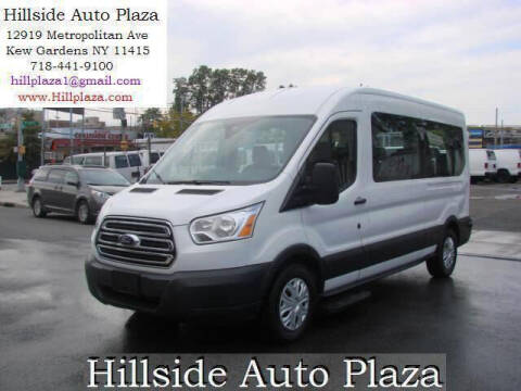 2018 Ford Transit Passenger for sale at Hillside Auto Plaza in Kew Gardens NY