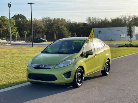 2013 Ford Fiesta for sale at GENESIS AUTO SALES in Port Charlotte FL