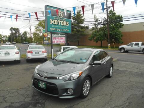 2014 Kia Forte Koup for sale at Brookside Motors in Union NJ