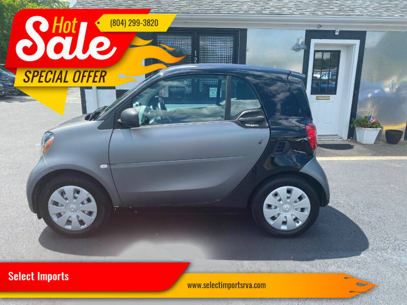 2016 Smart fortwo for sale at Select Imports in Ashland VA