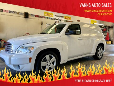 2010 Chevrolet HHR for sale at Vanns Auto Sales in Goldsboro NC