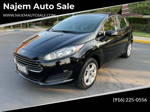 2016 Ford Fiesta for sale at Najem Auto Sale in Sacramento CA