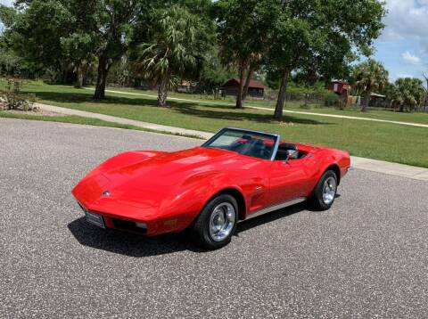 1973 Chevrolet Corvette for sale at P J'S AUTO WORLD-CLASSICS in Clearwater FL