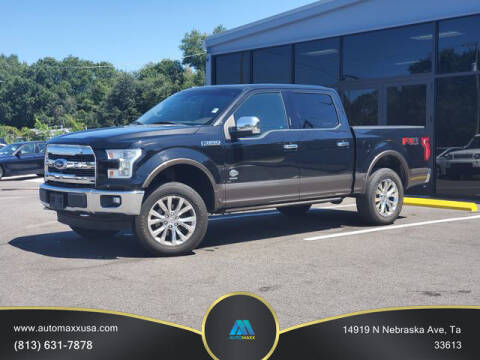 2015 Ford F-150 for sale at Automaxx in Tampa FL