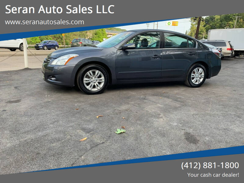 2011 Nissan Altima for sale at Seran Auto Sales LLC in Pittsburgh PA