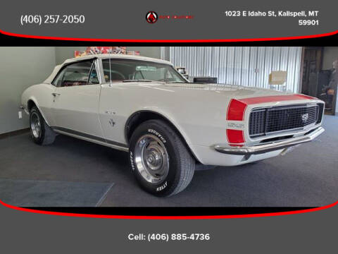 1967 Chevrolet Camaro for sale at Auto Solutions in Kalispell MT