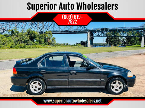 1997 Honda Civic for sale at Superior Auto Wholesalers in Burlington NJ