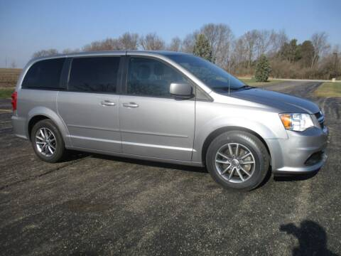 2016 Dodge Grand Caravan for sale at Crossroads Used Cars Inc. in Tremont IL