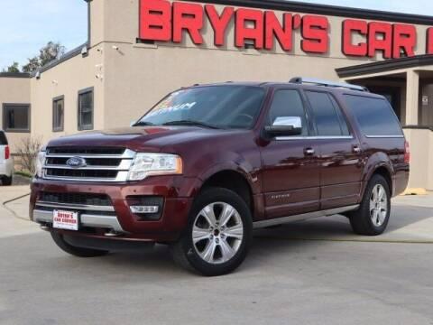 2015 Ford Expedition EL for sale at Bryans Car Corner in Chickasha OK